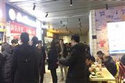 西湖区黄龙时代广场办公配套美食档口客流稳定排队就餐