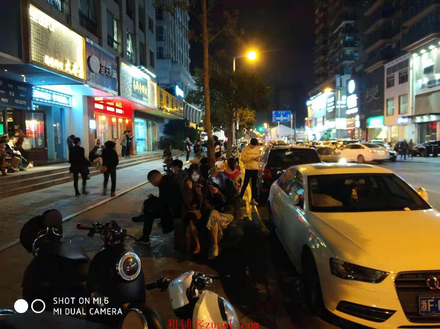 下城区新华路凤起路沿街50平餐饮旺铺执照齐全可明火