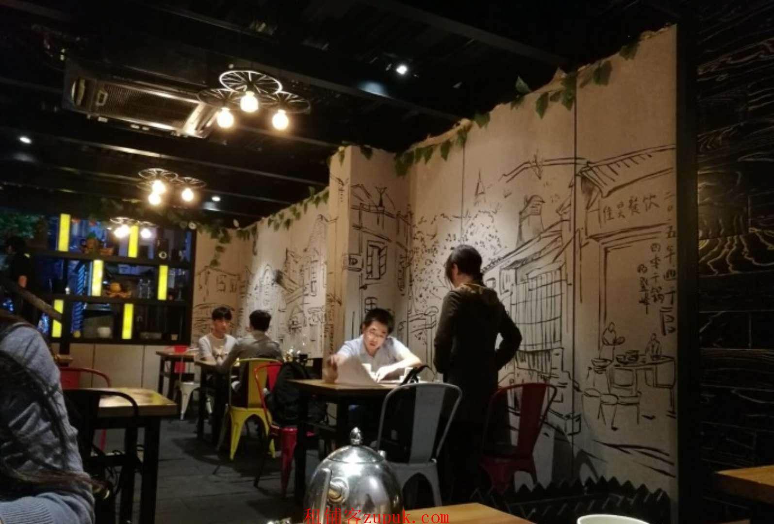 杨浦赤峰路沿街重餐饮,执照齐全有煤气,可签5年!