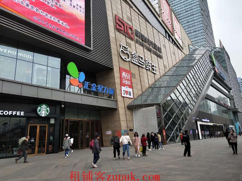 紫林庵附近购物中心内旺铺整体转让