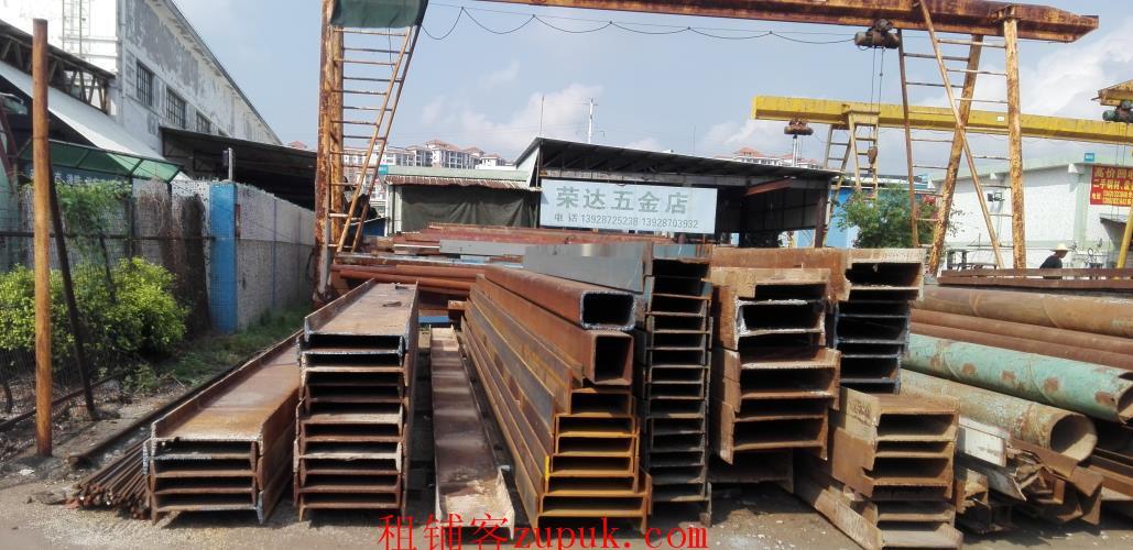 广东大型钢材交易中心有2万方招租,诚邀工字钢行业进驻