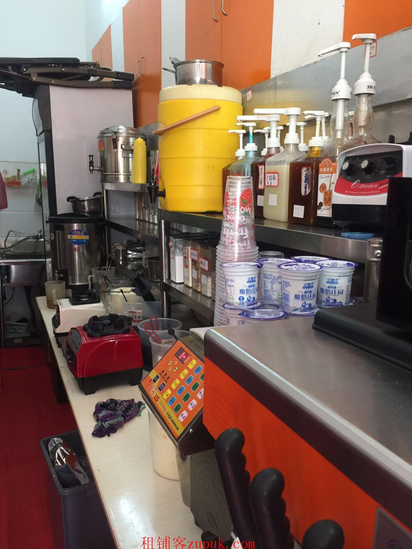 重点中学校内奶茶店冷饮店转让一年回本