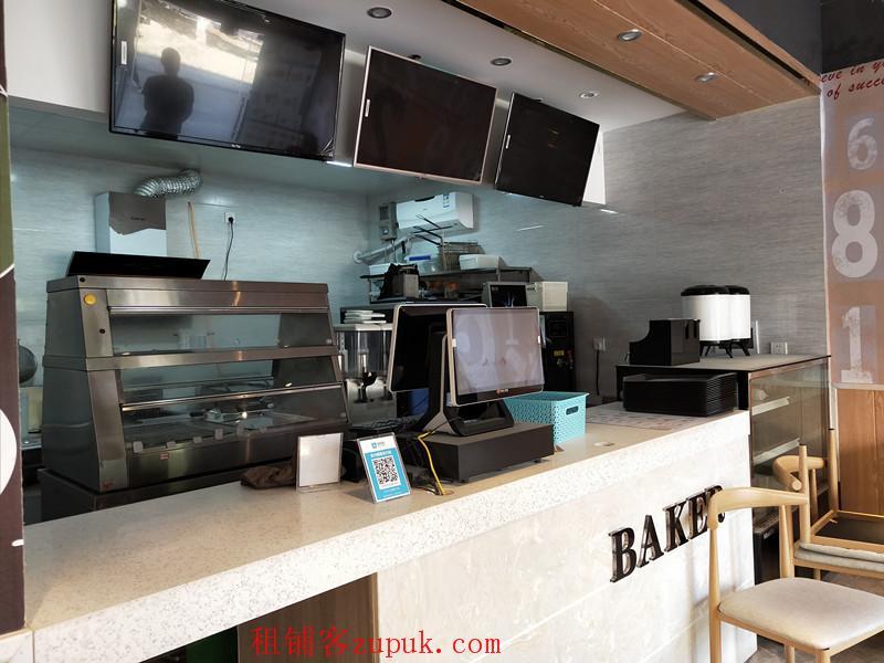 商学院独家生意贝克汉堡餐饮店盈利生意转让