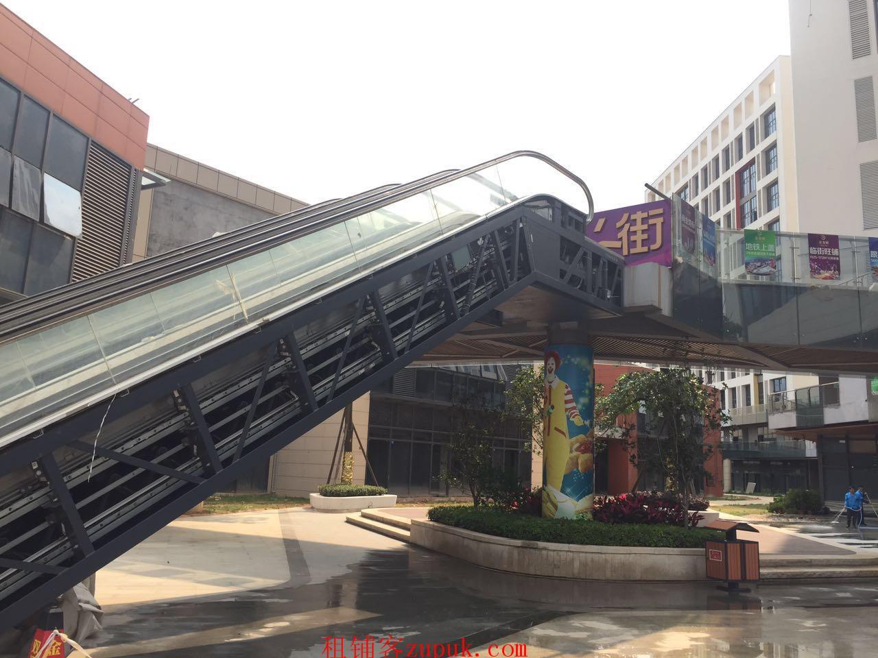 番禺地铁旁,客运站附近,免进场费顶手费,开发商街铺,适宜百业