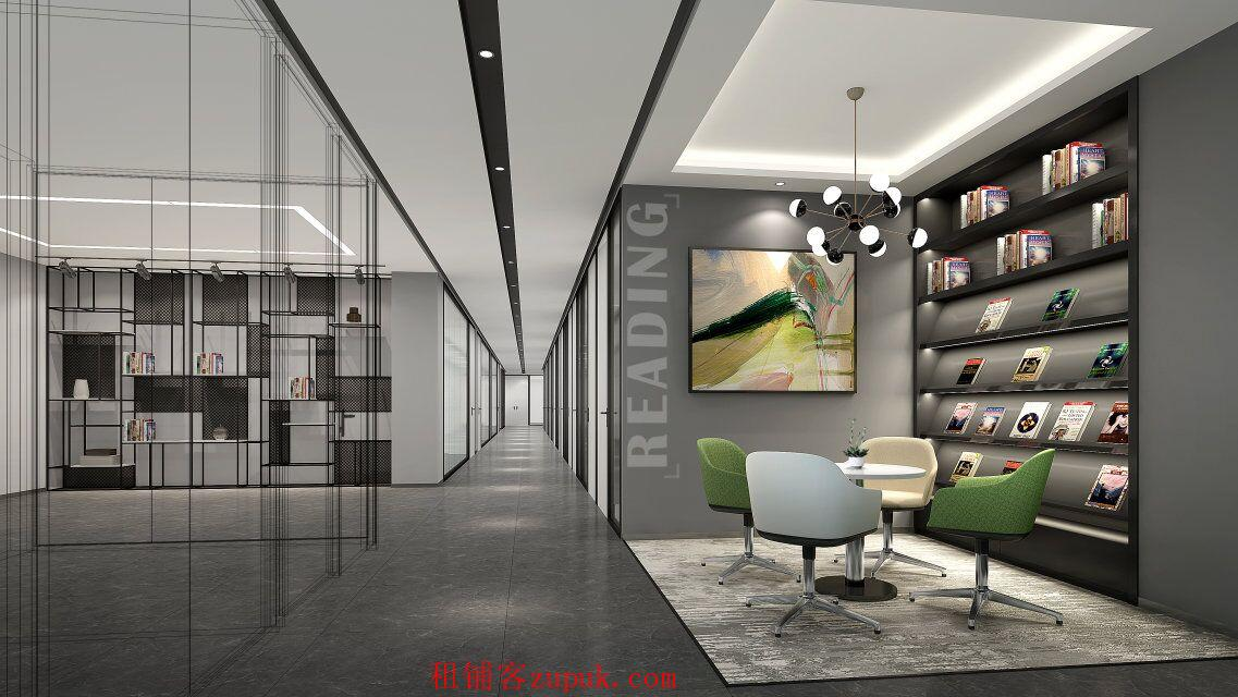 西朗地铁精装小型办公室出租,正规租赁合同注/册地址