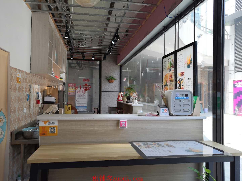 地铁站网红街进出口饮品店转让