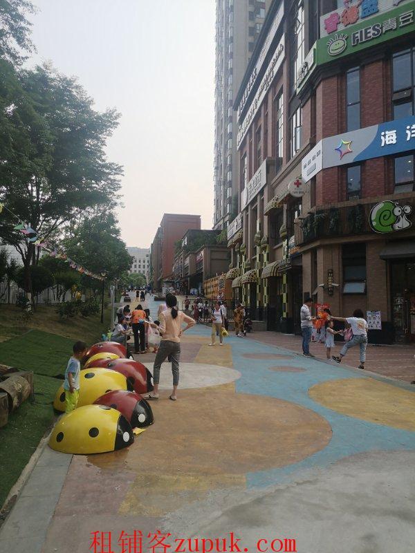 三环外侧绿地468公馆三期一楼底商铺子出租