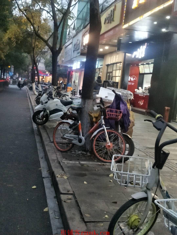 西湖区文三路黄姑山路沿街重餐饮旺铺执照齐全客流超大