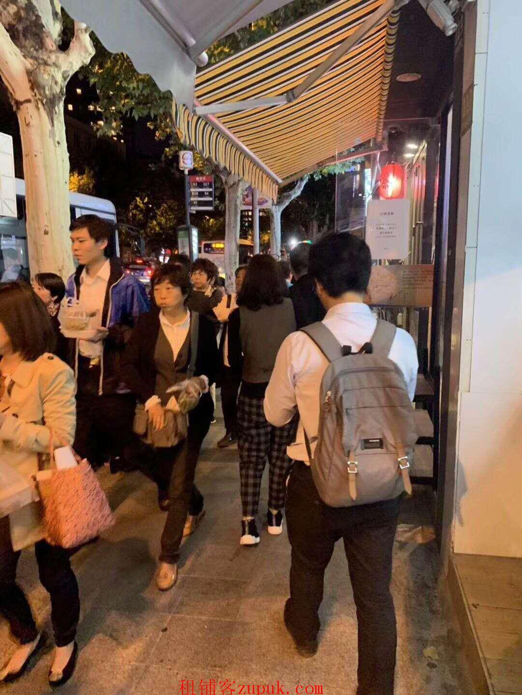 愚园路靠近长宁路沿街旺铺,人流量大 适合咖啡 简餐 川湘菜等
