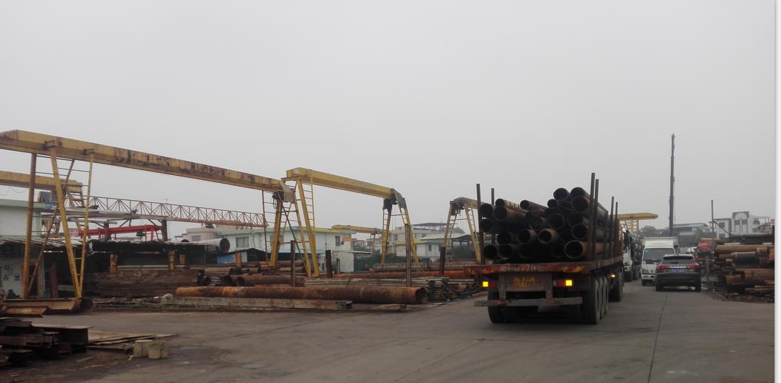 广州钢材交易中心有2万方招租,诚邀钢管行业进驻