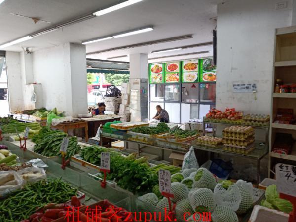 盘龙城256㎡生鲜超市转让行业不限