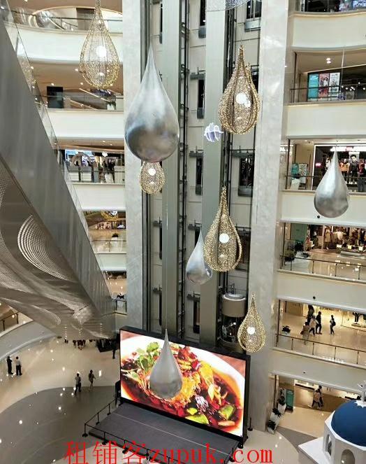 上海闵行区爱琴海购物公园7楼可餐饮商铺出租
