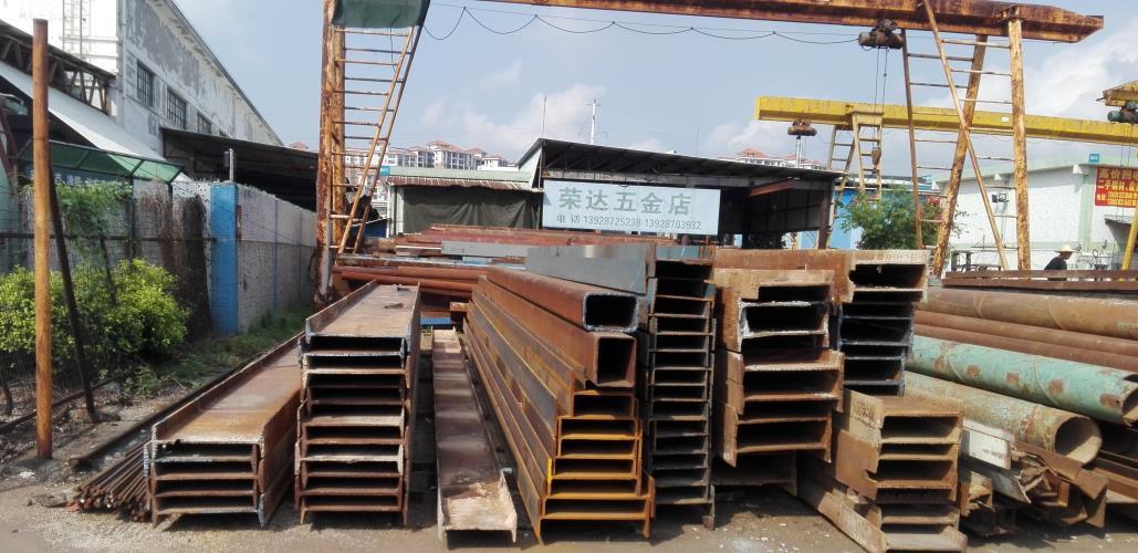 广州钢材交易中心有2万方招租,诚邀工字钢行业进驻