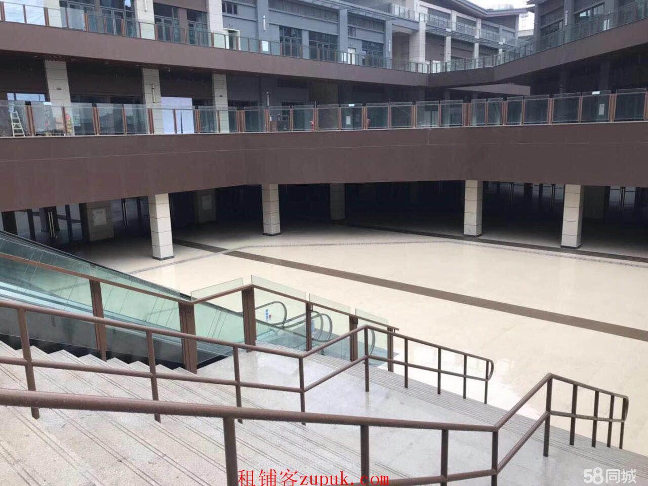 华润二十四城柒公馆一楼、负一楼出租可餐饮(房东直租)
