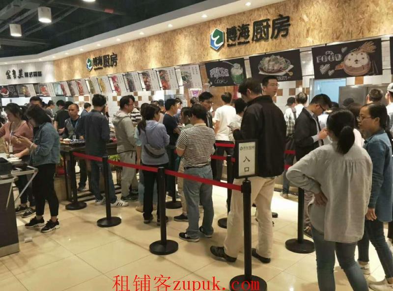 松江漕河泾开发区旺铺直租,人流量大 适合盖浇饭 麻辣烫等