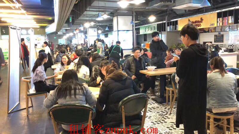 四川北路成熟商业街旺铺出租 可奶茶麻辣烫炒饭酸菜鱼