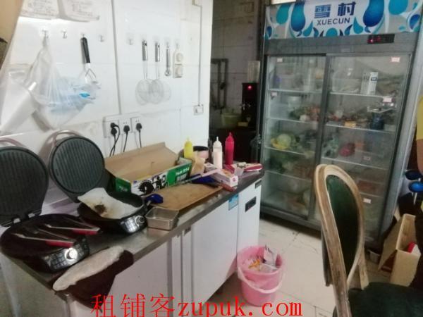 江汉区民主街35㎡临街门面空转可做外卖