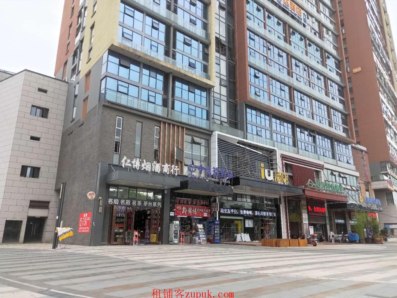 北大资源梦想城68平临街门面出租