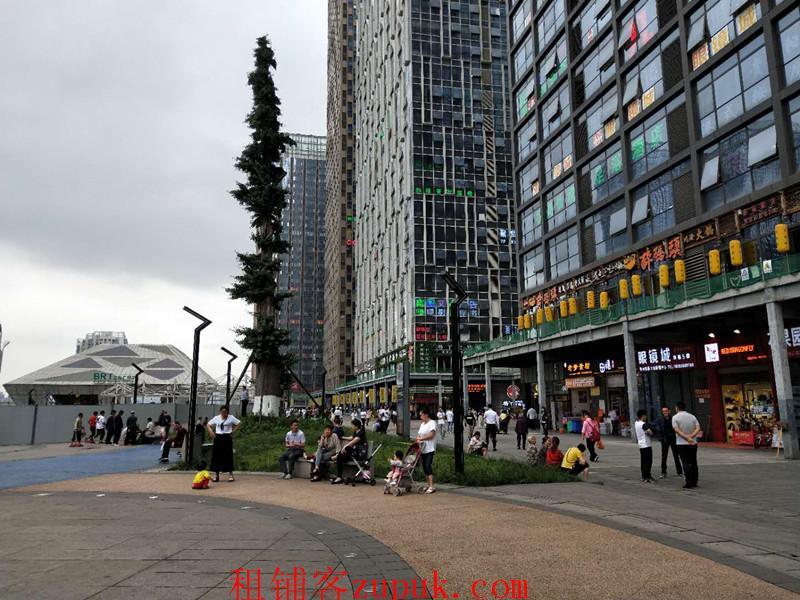 双子塔旁兰花广场最佳观景位置高端牛排餐厅生意转让
