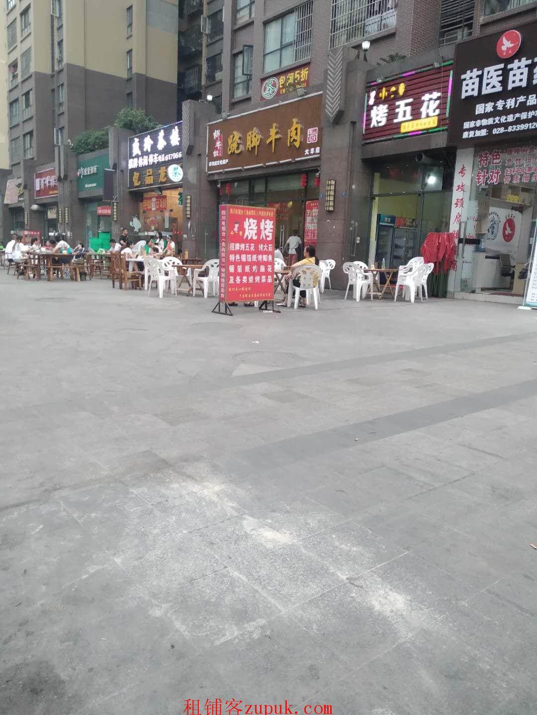 新都区大丰镇商业街地铁口商铺转让