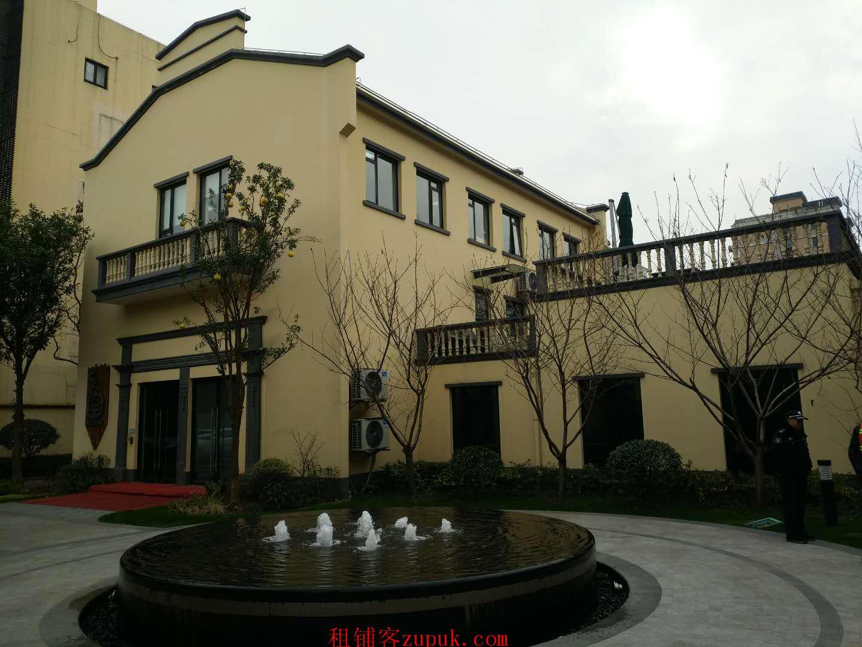 上海市静安区静安大融城旁独栋花园式办公楼一二楼出租