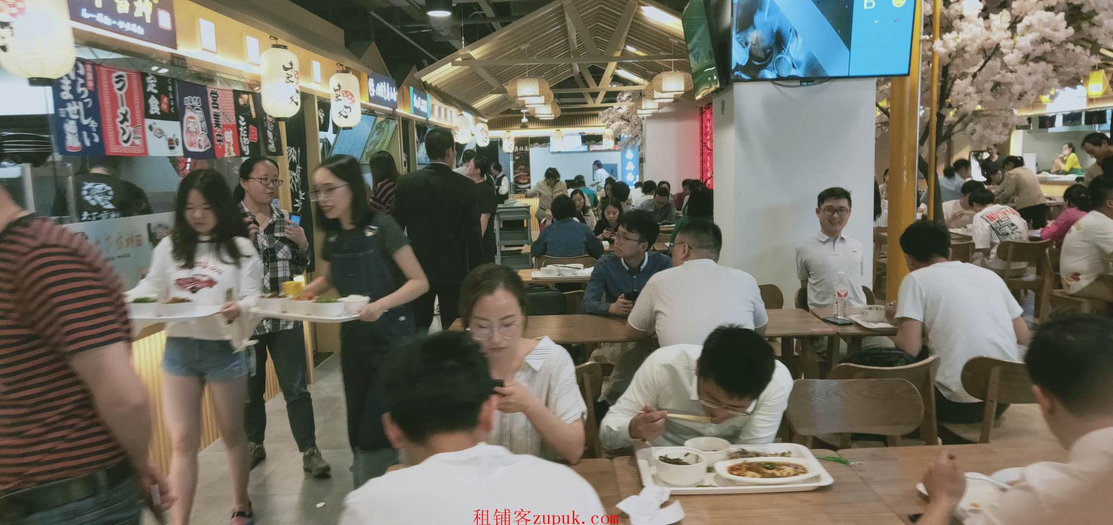 出租天河东圃临街门面,可小吃 饭食,位置好,人超多