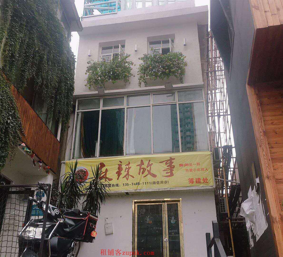 黄兴南路步行街地铁口临街独栋门面出租