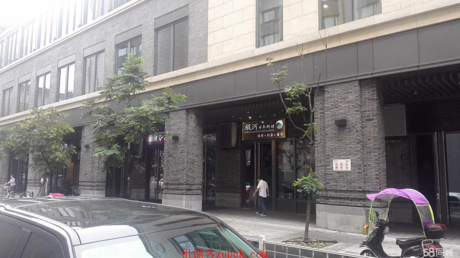 出租西湖湖滨银泰边吴山路一楼沿街稀缺旺铺