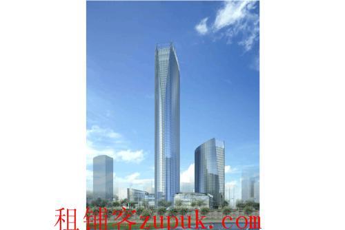 红谷滩秋水广场旁新地中心1楼底商