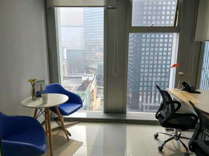 富力盈隆大厦精装修纯写字楼办公室 费用全包