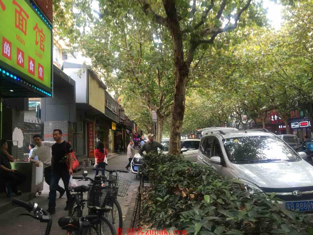 浦东新区蓝村路超大人流面宽7米有煤气招各类特色美食