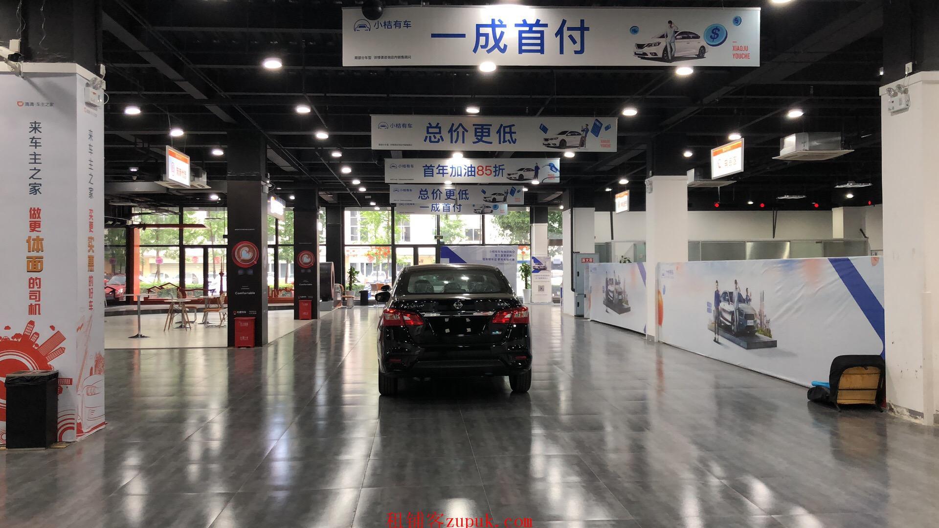 南三环二段 2400平大开间底商出租 锦泰检测站旁