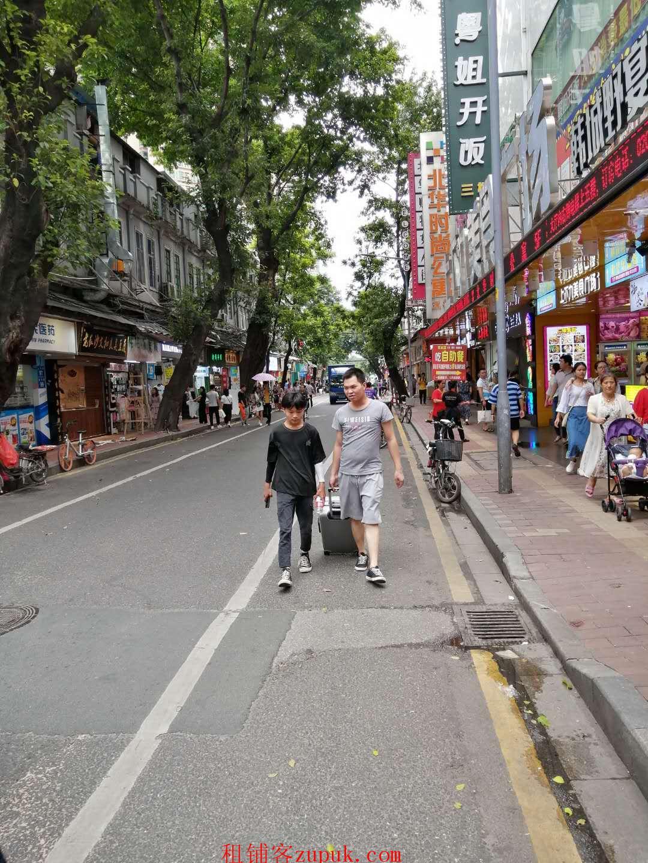 荔湾上下九临街20平旺铺,带煤气,适合小吃,饮品!