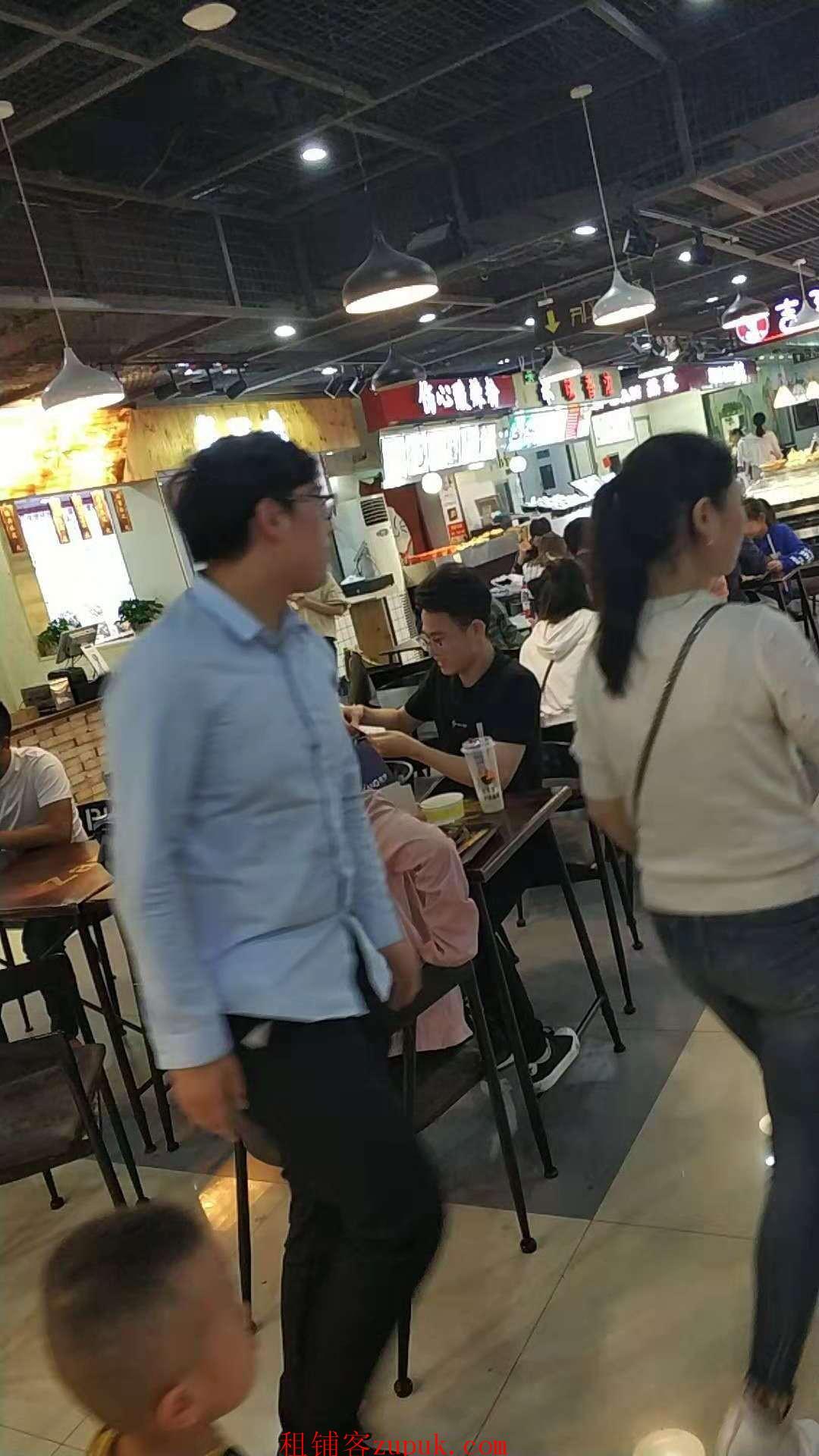龙翔桥地铁站出口沿街神铺适合做小吃每天人流20W