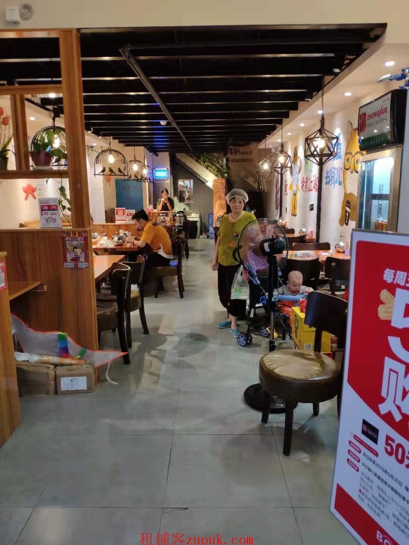 长沙银盆岭奥克斯广场金牛街盈利中餐厅转让