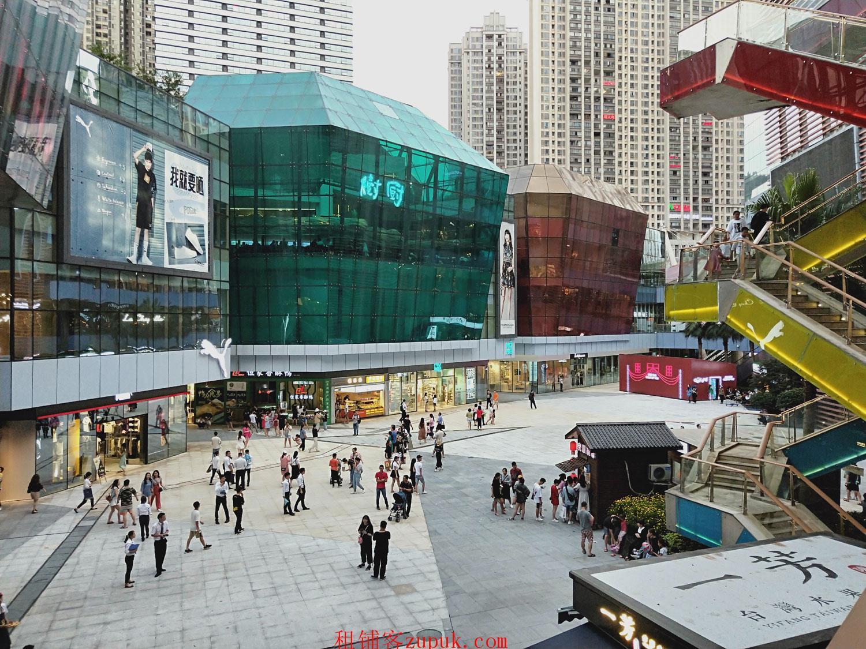 花果园购物中心龙头位置是生活无忧品牌盈利生意转让