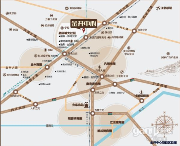 轻轨3号线鸳鸯站70米商铺出租