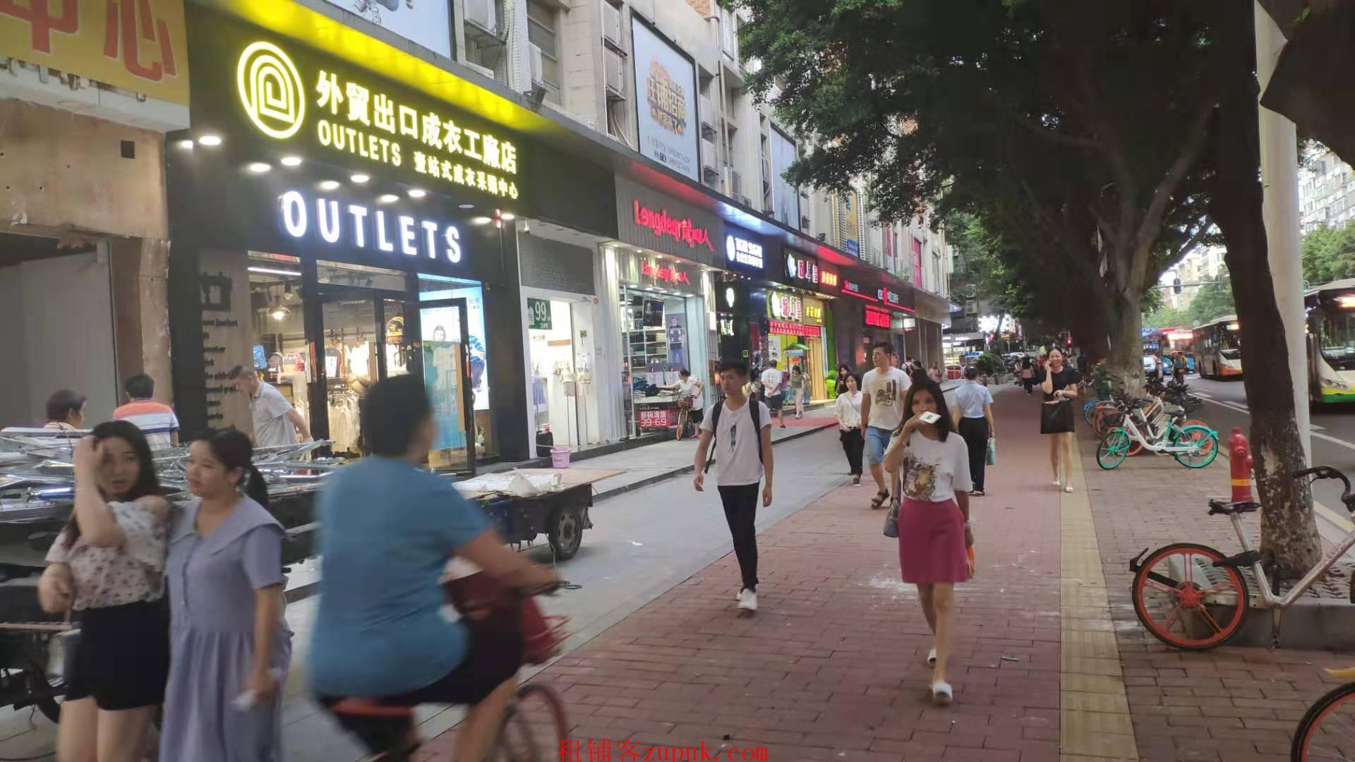 黄边地铁口门面招租,餐饮街人流大,租金8千-1万6,先到先得