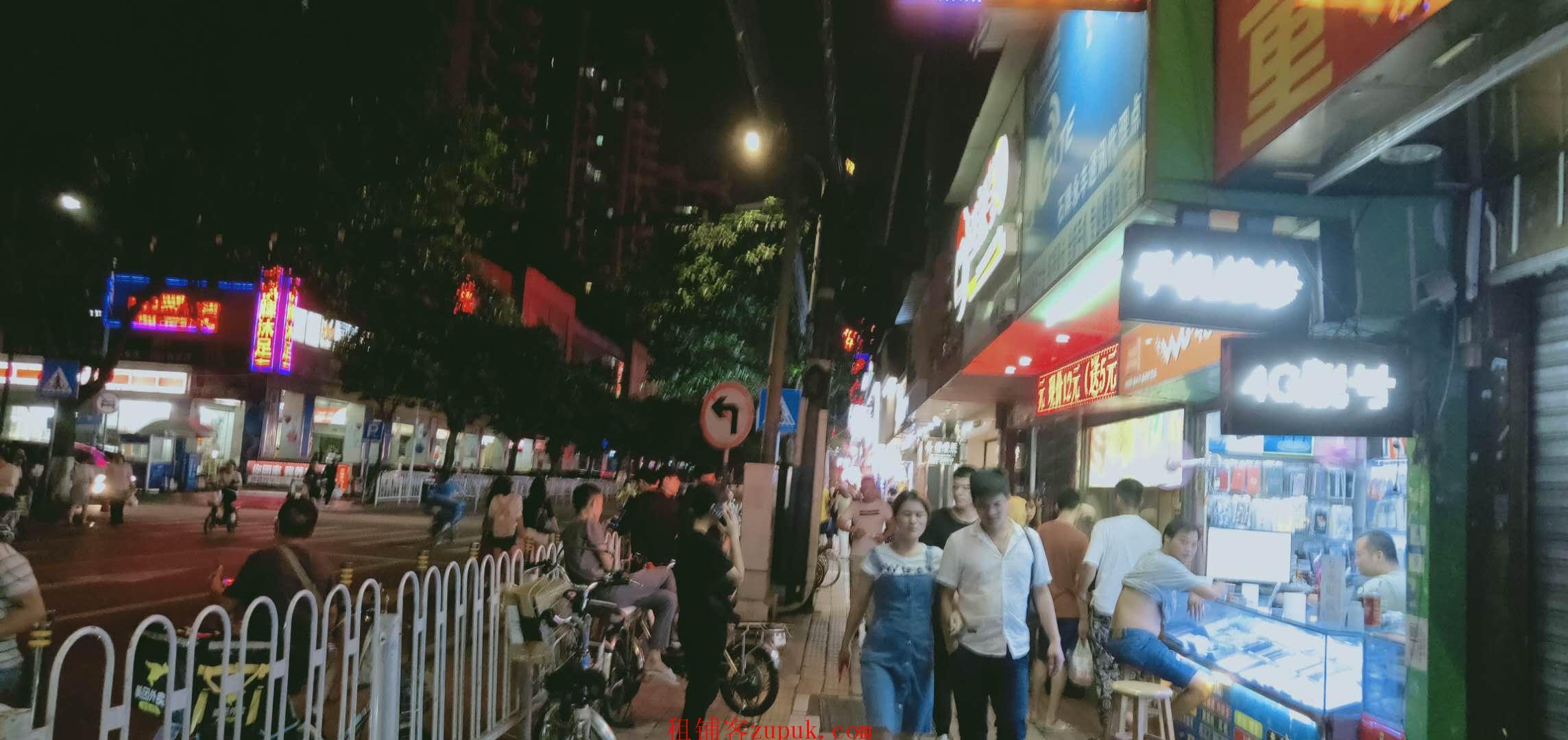 长寿东路,正街小吃店,门口大客流人多,可各种餐饮证照齐全