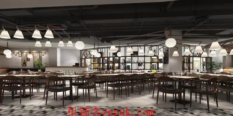 余杭未来科技城三万白领配食档口招租 业态不限 可重餐饮明火