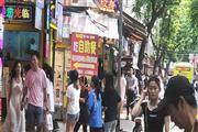 员村-地铁站,小吃店门口大客流,人超多,可各种小吃