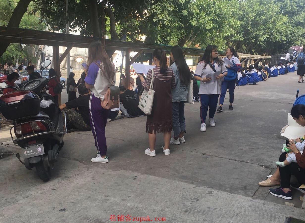 集美杏东路商业街店铺生意转让学校正对面公交站旁边