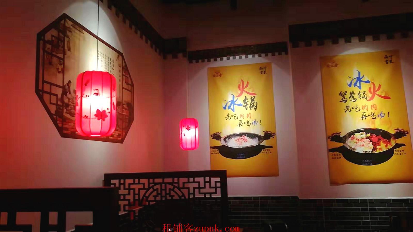 江南万达广场美食街餐饮老店低价转让