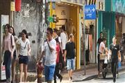 天河区五山路-道路,小吃店门口人超多,生意好做,租金低