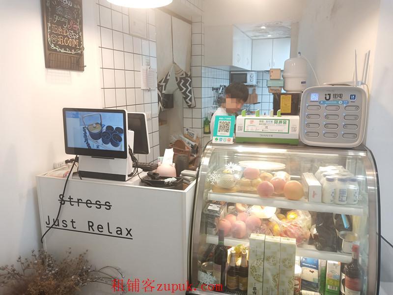 大十字智诚百货旁临街盈利咖啡厅转让