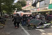 江苏路沿街餐饮商铺 人群川流不息展示面大