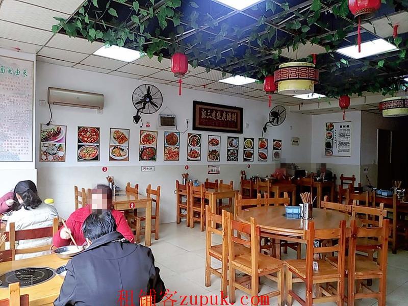 小河山水黔城120平餐饮老店急转