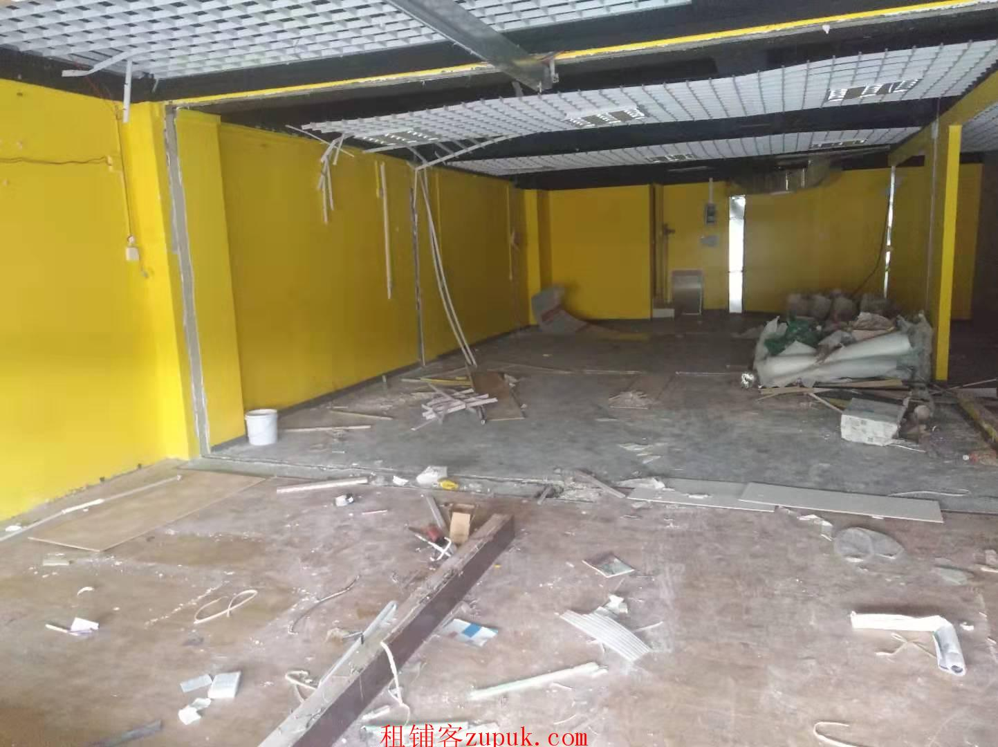凤岭北二中旁,临街铺,二楼120平,培训班转租
