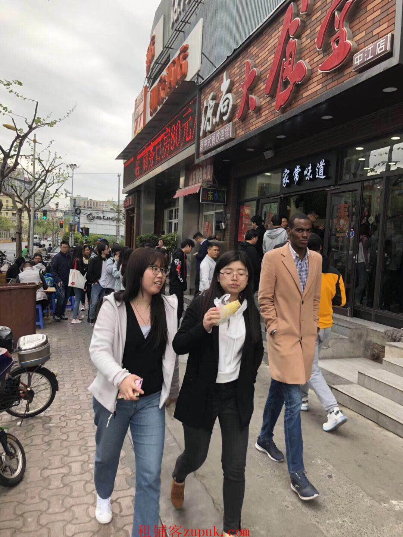 岗顶天河路重餐饮旺铺,带煤气,BRT直达,超大客流!
