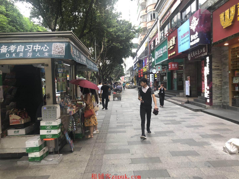 天河长湴临街50平旺铺,可煤气重餐饮,2千人办公配套